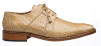 Alligator Shoes Ferrini Men's Beige Full Gator 205/528