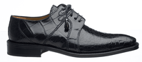 Alligator Shoes Ferrini Men's Navy Blue Lace Up 205/528