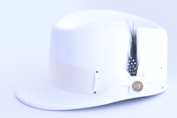 Bruno Capelo Winter White Legionnaire Hat LG-109