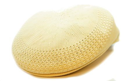 Bruno Men's Beige Ivy Summer Mesh Cap