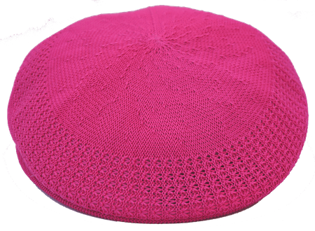 Bruno Men's Fuchsia Ivy Summer Mesh Cap