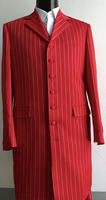 Red White Stripe Zoot Suit 3 Piece Alberto Zoot-200