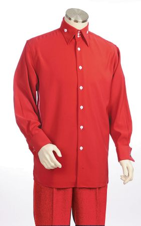 Canto Big and Tall 3 Button Collar Walking Suits 864