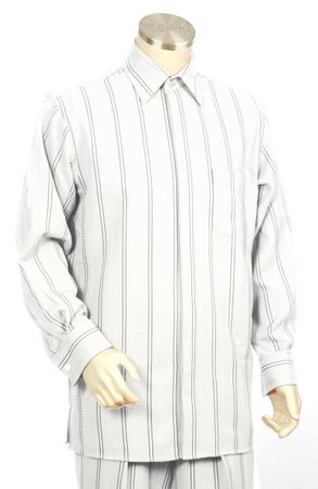 Canto Big and Tall Double Stripe Walking Suit 862