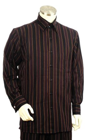 Canto Big and Tall Triple Stripe Walking Suit 861