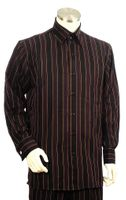 Canto Fancy Triple Stripe Long Sleeve Walking Suit  861