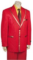 Canto Flashy Red Entertainer Fashion Suit 8169