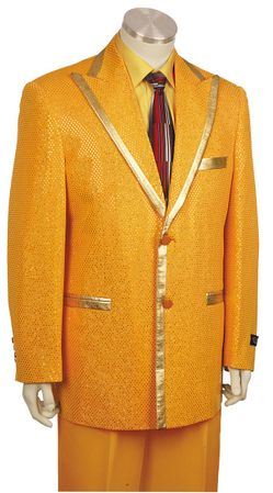 Canto Gold Flashy Entertainer Suit 8169 - click to enlarge