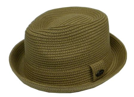 Capas Men's Beige Stingy Brim Summer Hat Traveler