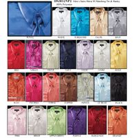 Daniel Ellissa Big and Tall Satin Dress Shirts 3012NP2