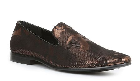 Giorgio Brutini Mens Bronze Black Smoking Loafer 179094-1 Size 12 Final Sale