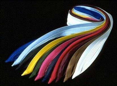 Hat Bands 3-Pleat Satin Fashion Colors