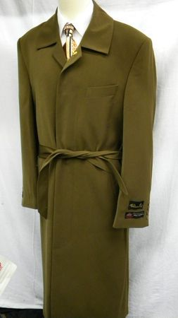Falcone Mens Aero Coffee Peach Touch Microfiber Topcoat 5643-074 - click to enlarge
