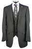 Falcone Mens Big Size Fashion Dress Suit Burt Vested 3420