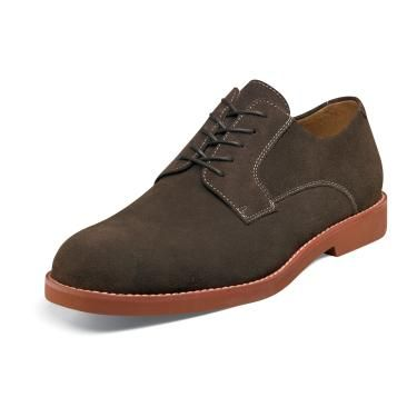 Florsheim Kearny Mens Brown Suede Oxford Shoes 12054-245 IS