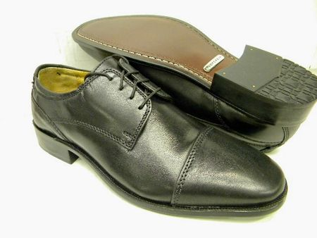 Florsheim Mens Black Captoe Shoes Minturn Final Sale