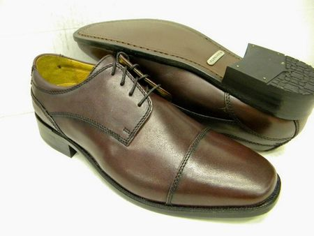 Florsheim Minturn Mens Burgundy Captoe Shoes 12048-601 Final Sale