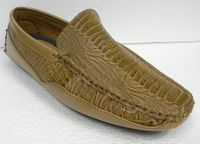AC Scotch Ostrich Print Casual Driving Shoes 6513 IS