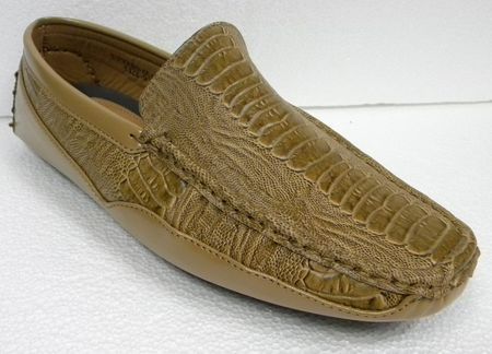 AC Scotch Ostrich Print Casual Driving Shoes 6513 Size 13 - click to enlarge