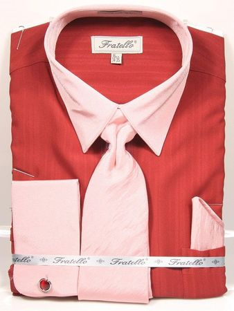 Fratello French Cuff Dress Shirts