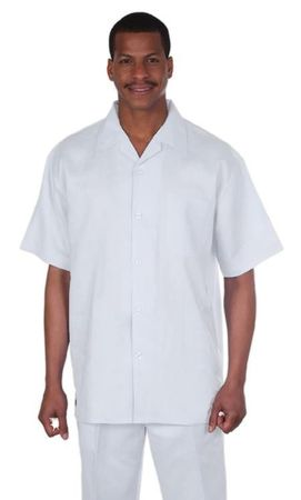 Off White Linen Outfit for Men GB