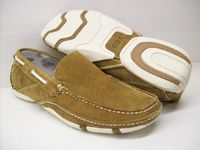 GBX Mens Brown Suede Casual Moccasin Driving Shoes 131304 IS