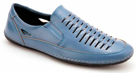 Mens Summer Casual Shoes by Montique Carolina Blue S18 - click to enlarge