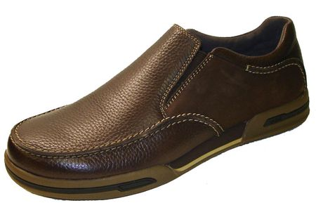 824e764128 Gbx Mens New Brown Leather Casual Loafers 131722