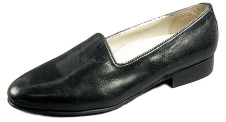 Giorgio Brutini Mens Black  Pump Leather Loafers 244371 IS