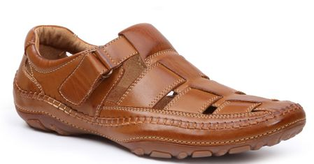 GBX Mens Tan Casual Closed Toe Sandals 135594 Size 9.5