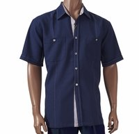 Giorgio Inserti by Inserch Mens Blue Stitch Walking Suit 741