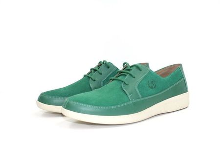 Johnny Famous Casual Men Shoes Park West Green