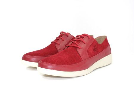 Johnny Famous Casual Men Shoes Park West Red