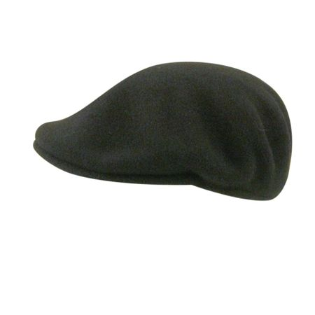 Kangol Hats Mens Black 100% Wool  504 Hat