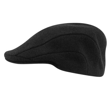 Kangol Hats Mens Black 100% Wool  Flannel 507 - click to enlarge