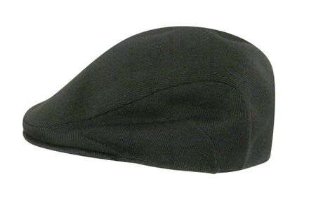 Kangol Hats Mens Black Tropic Flat 507 Cap 330da8de8b49