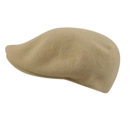 Kangol Hats Mens Flax Tan 100% Wool  504 Hat