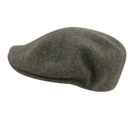 Kangol Hats Mens Gray Flannel 100% Wool  504 - click to enlarge