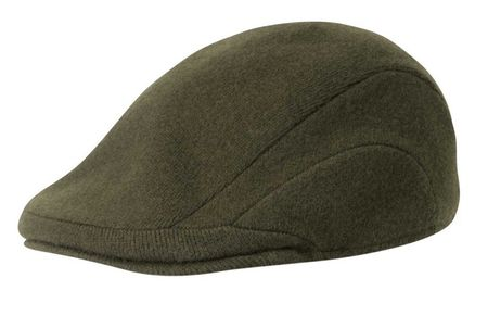Kangol Hats Mens Loden Green 100% Wool Flannel 507 Size S,M,XL