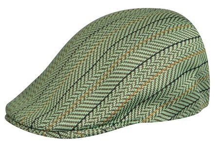Kangol Hats Mens Pistachio Sierra Stripe 507 Cap - click to enlarge