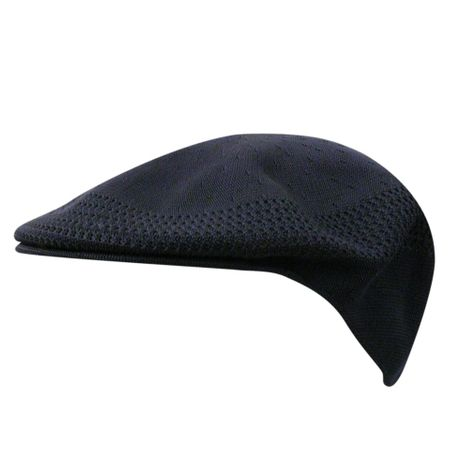 Kangol Hats Mens Solid Black Ventair 504 Cap
