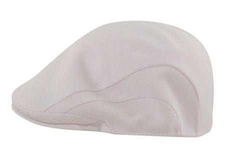 Kangol Hats Mens Tropic Flat White 507 Cap  - click to enlarge