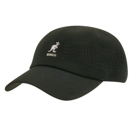 Kangol Mens New Tropic Ventair Spacecap Black - click to enlarge