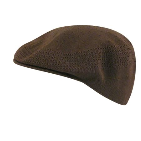 Kangol Caps Mens All  Brown Ventair 504 Hats - click to enlarge