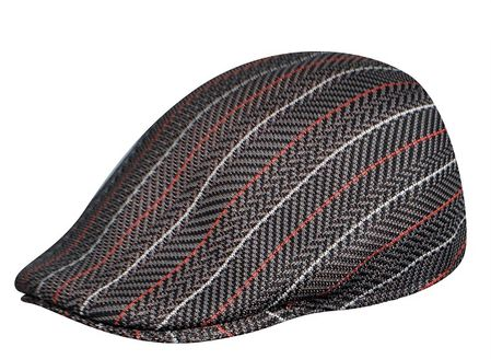 Kangol Hats Mens Sierra Stripe 507 Black - click to enlarge