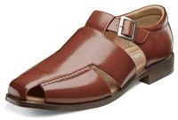 Stacy Adams Mens Cognac Closed Toe Sandals Catalina 24966-221 IS