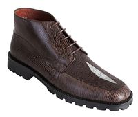 Los Altos Brown Stingray Lizard Chukka Boot ZA2061207