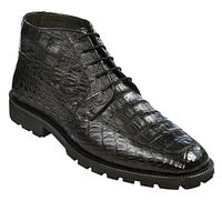 Los Altos Mens Black Crocodile Chukka Boot ZA2060205