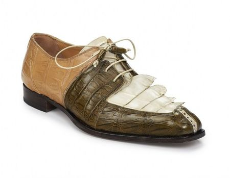 Mauri Beige Brown Horn Back Shoes Metauro 4876 - click to enlarge