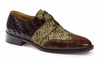 Mauri Alligator Crocodile Wingtip Shoes Caracalla 53124